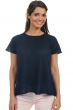 coton giza 45 pull femme col rond kimberley marine t3