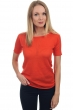coton giza 45 pull femme col rond whitney brique s