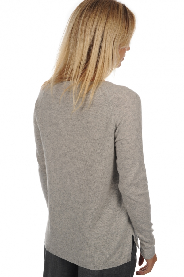 Cachemire pull femme col rond maisha flanelle chine s