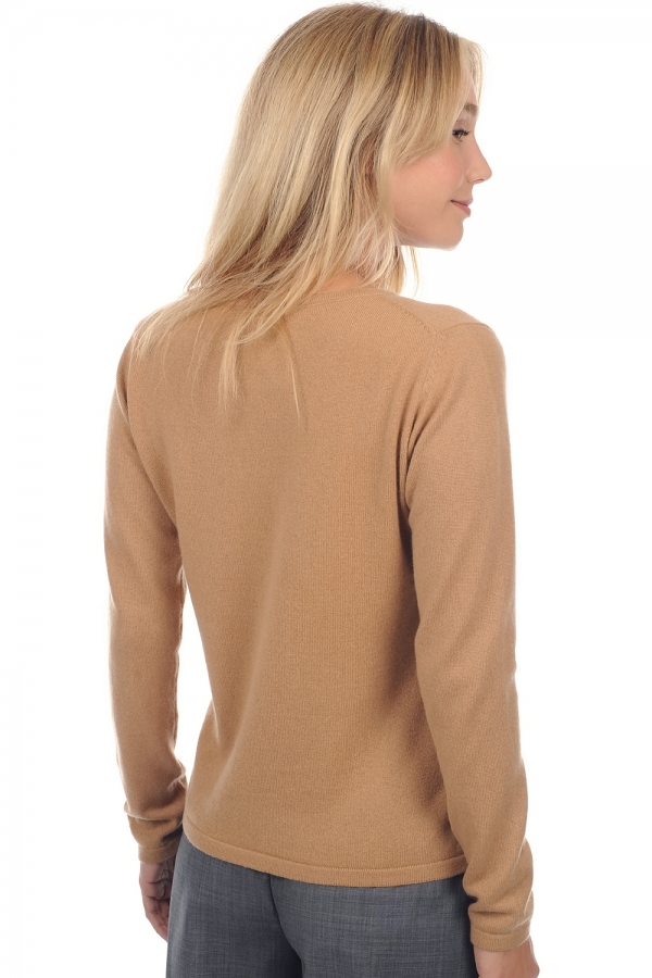 Cachemire pull femme col rond solange camel s