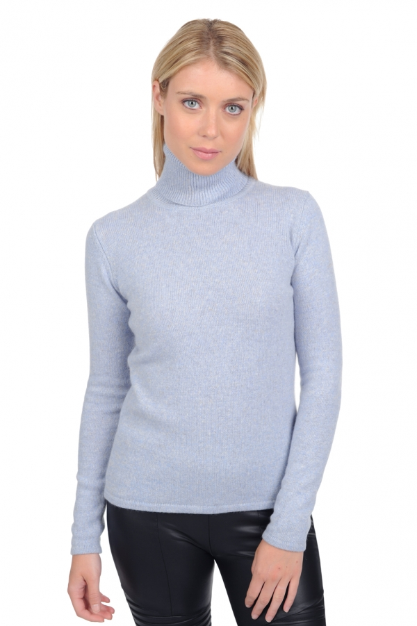 Cachemire pull femme col roule lyanne everest l
