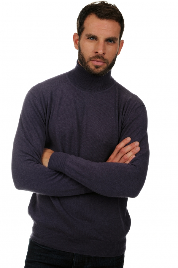 Cachemire pull homme col roule edgar mure s