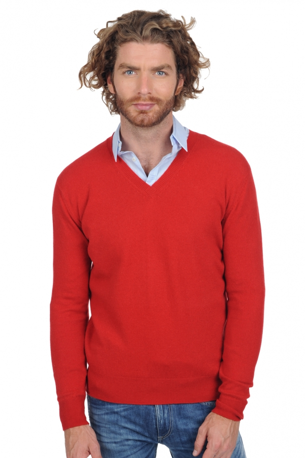 cachemire petits prix homme tor ultra red l