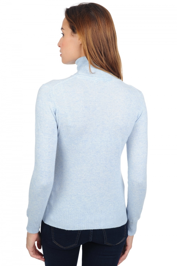 cachemire pull femme col roule lili arctic s