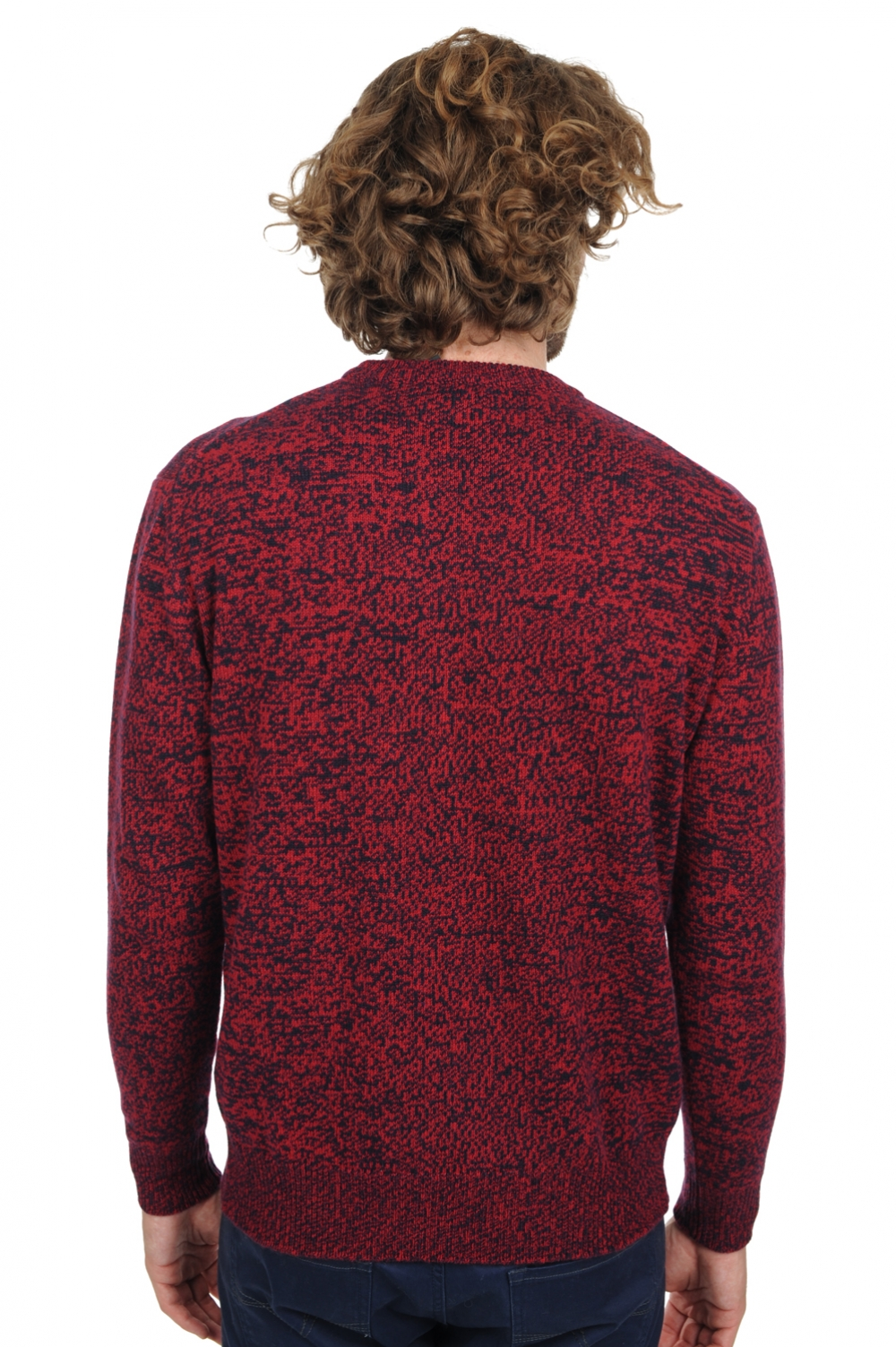 Cachemire pull homme col rond samwell disco m