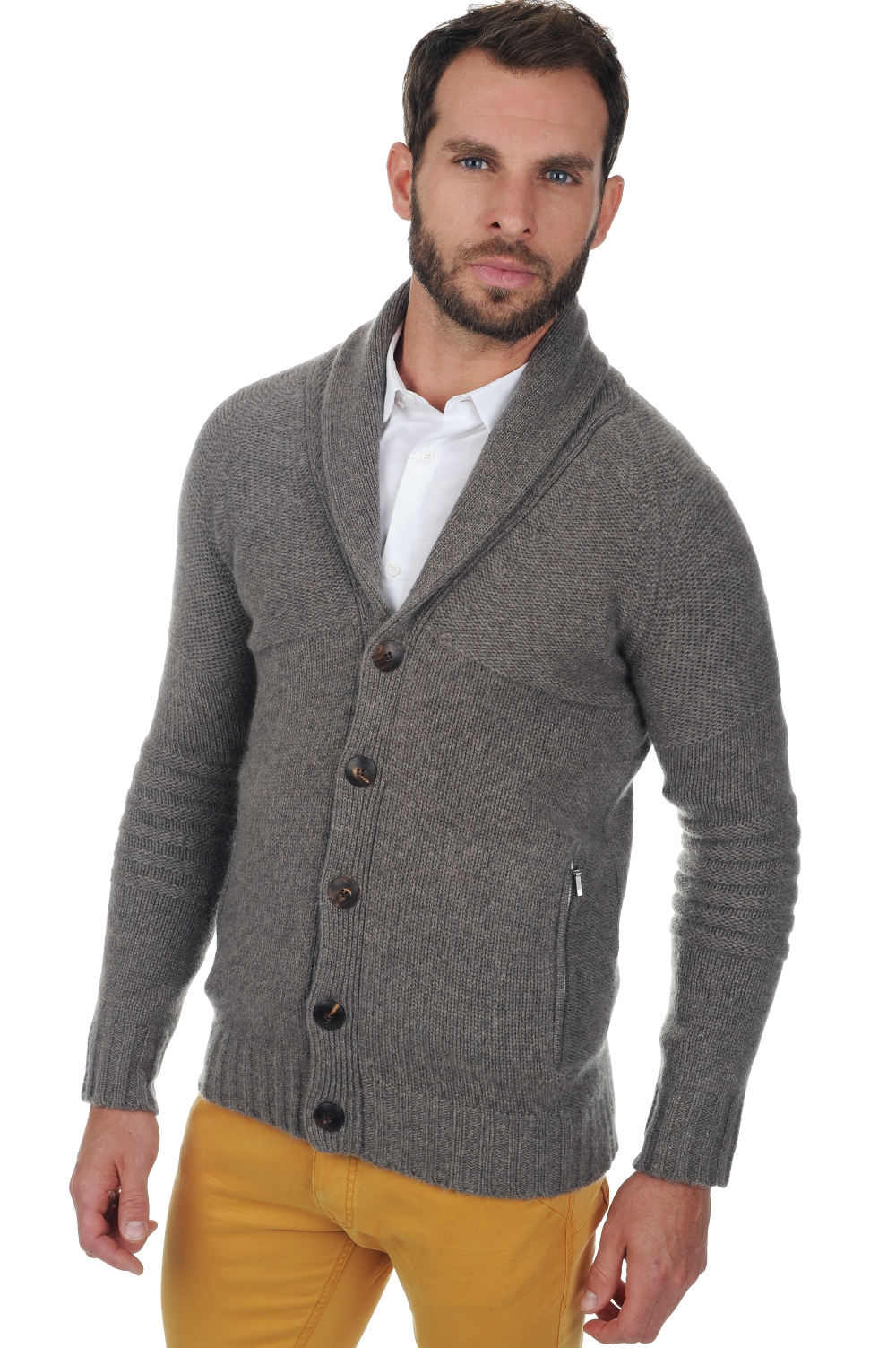 Cachemire pull homme harvey marmotte chine m