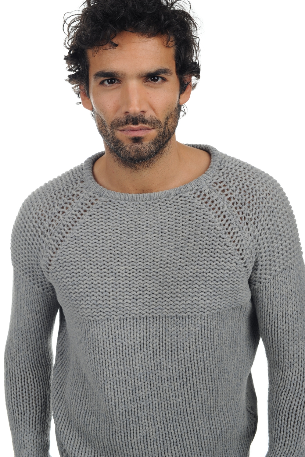 yak pull homme col rond julius silver m